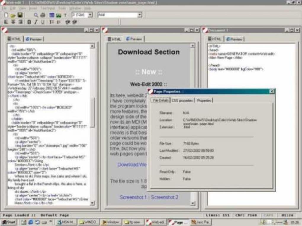 webedit 2002 gratis
