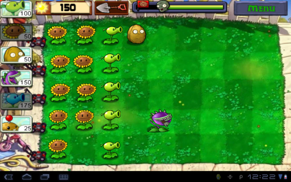 Plants vs  Zombies for Android - Download