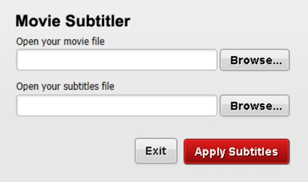 Free Movie Subtitler - Download