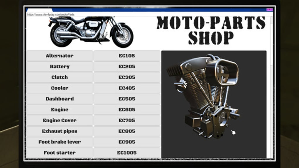 Motorbike Garage Mechanic Simulator - Download