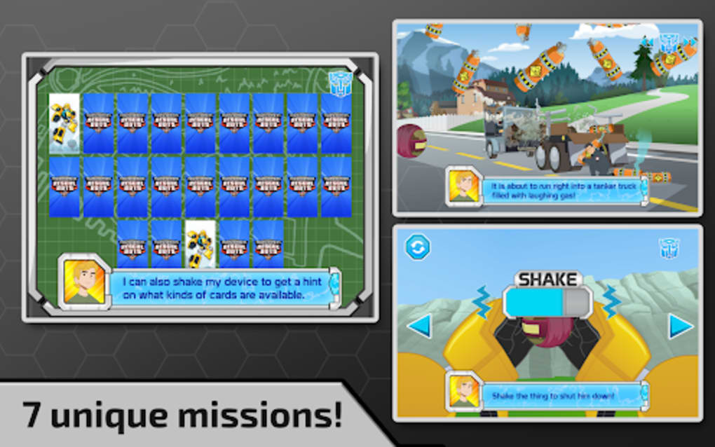 Transformers Rescue Bots: Need for Speed for Android - Download