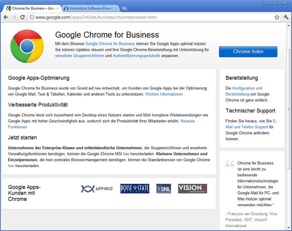 Google Chrome for Business - Download