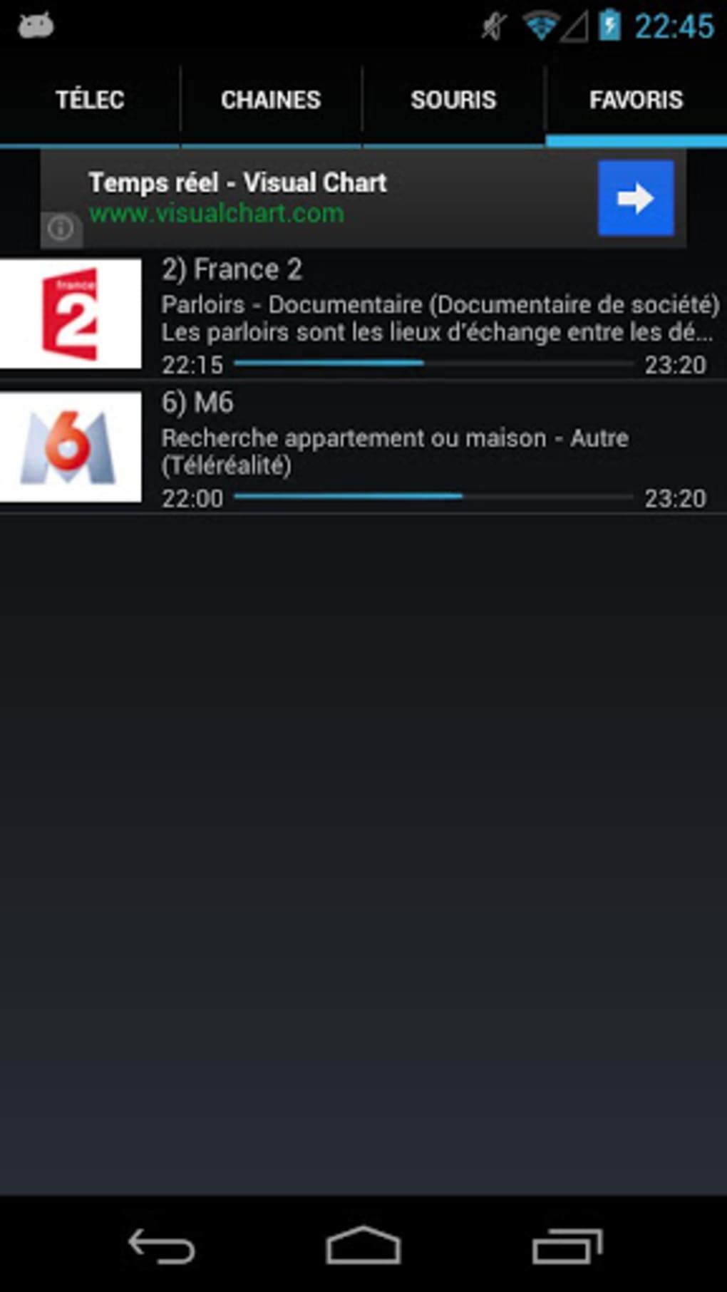 telecommande freebox sur blackberry