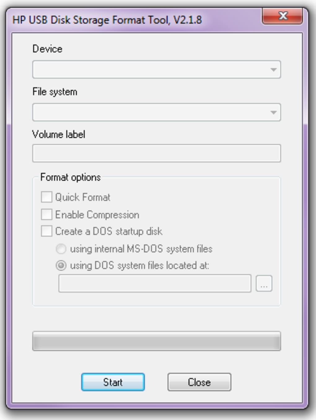 HP USB Disk Storage Format Tool - Télécharger