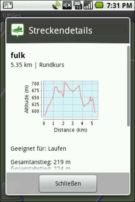 Gpsies Karte.Gpsies Für Android Android Download