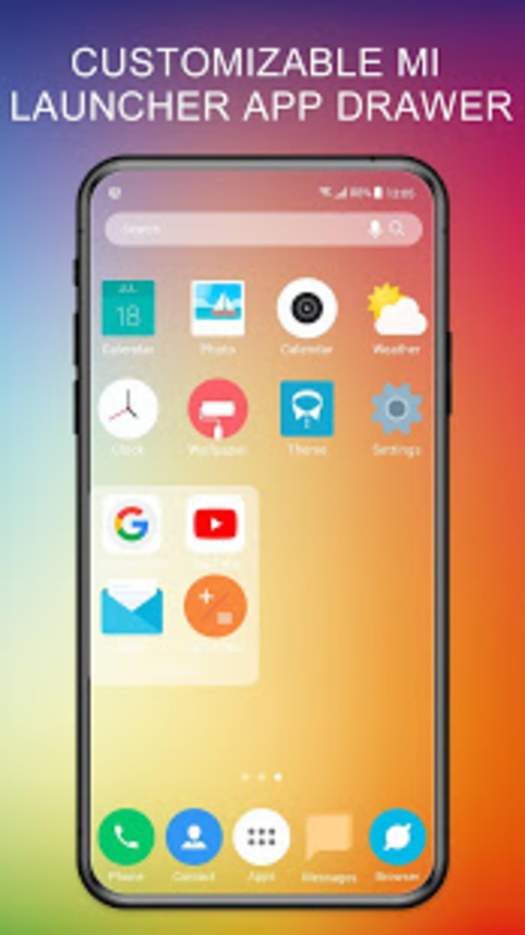 Mi 10 Launcher for Xiaomi MIUI Theme Icon Pack for Android