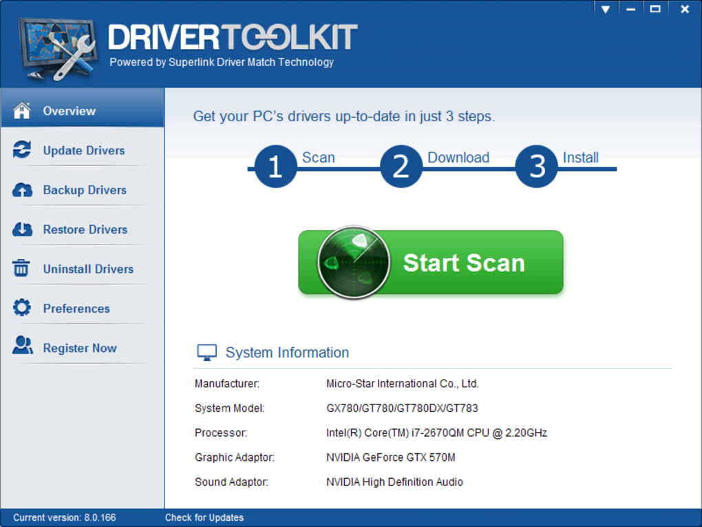 drivers toolkit