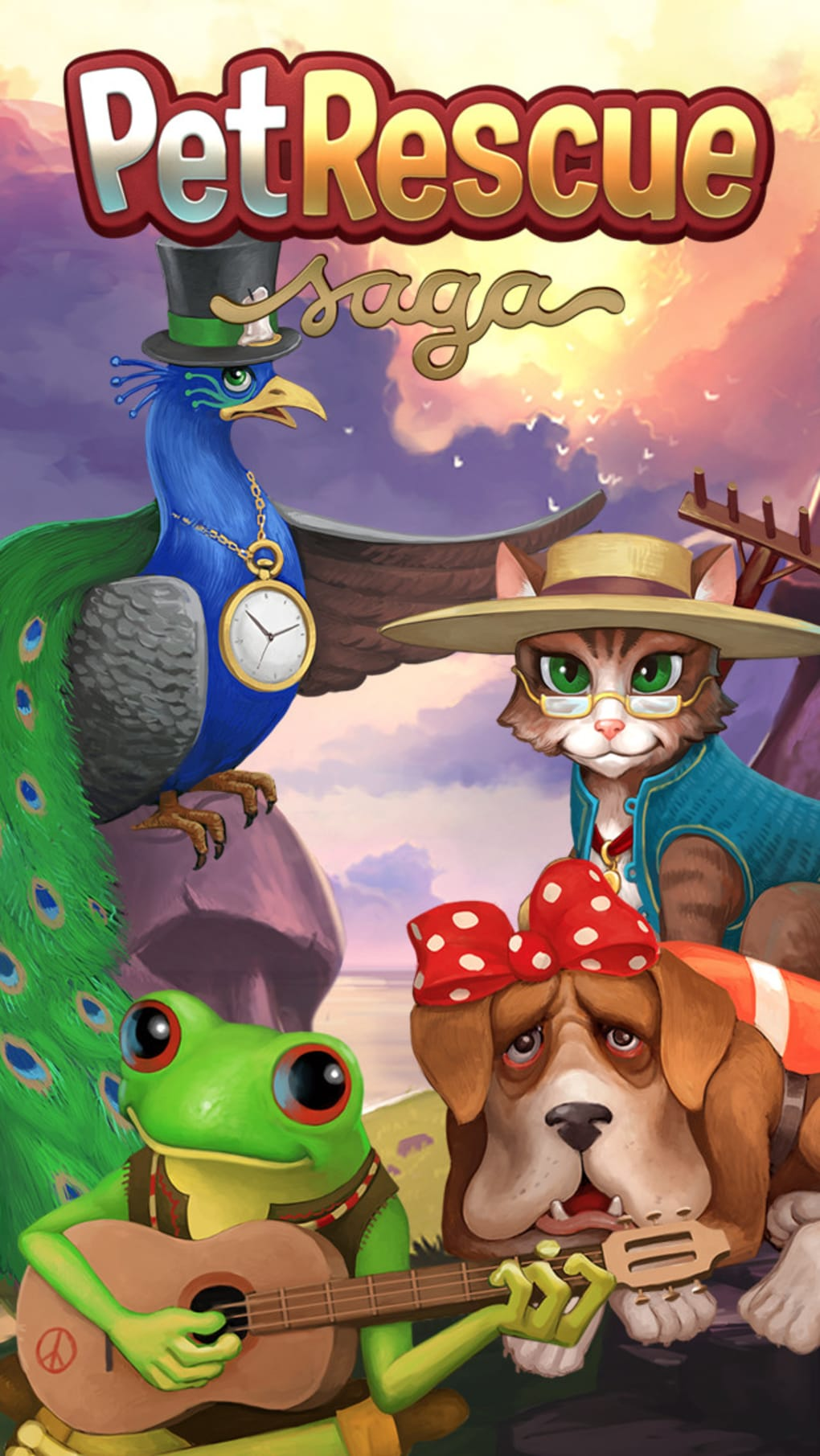 Pet Rescue Saga for iPhone - Download