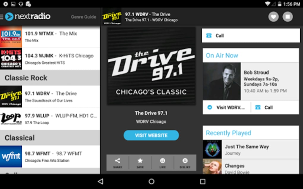 NextRadio - Free Live FM Radio for Android - Download