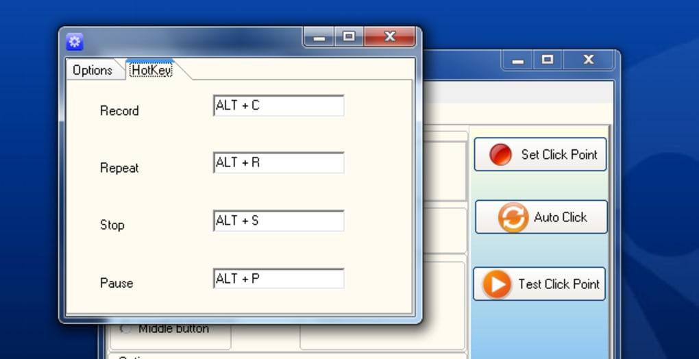 como configurar o auto click gs
