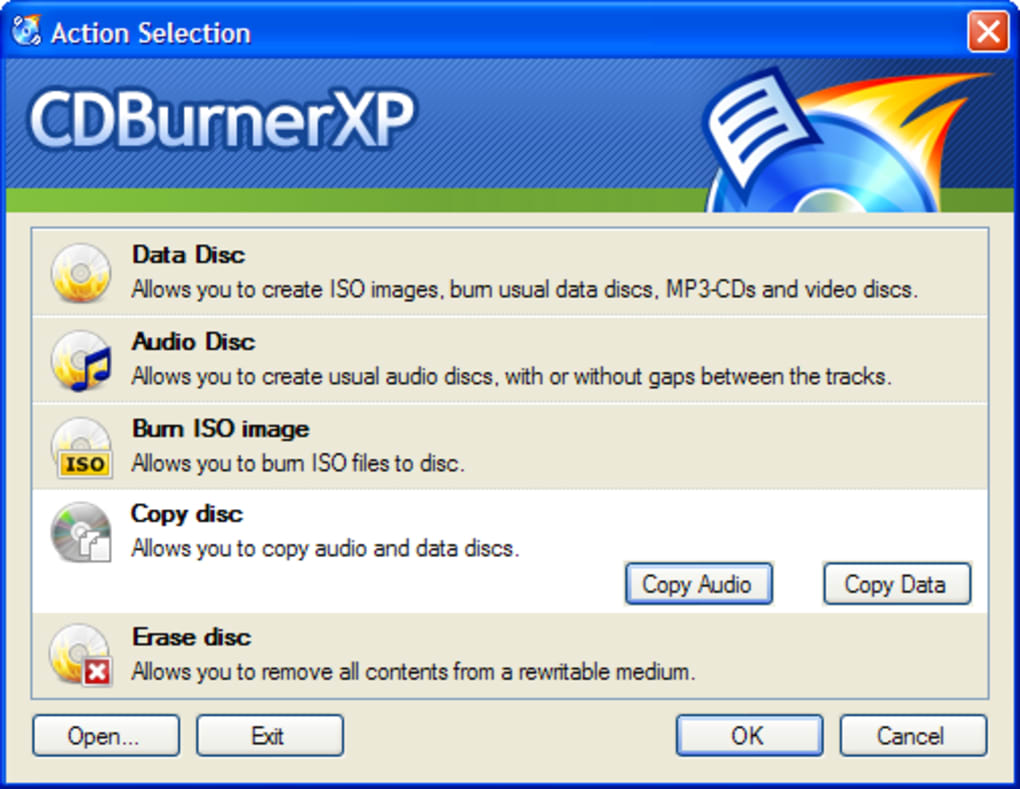 cd burner xp gratuit