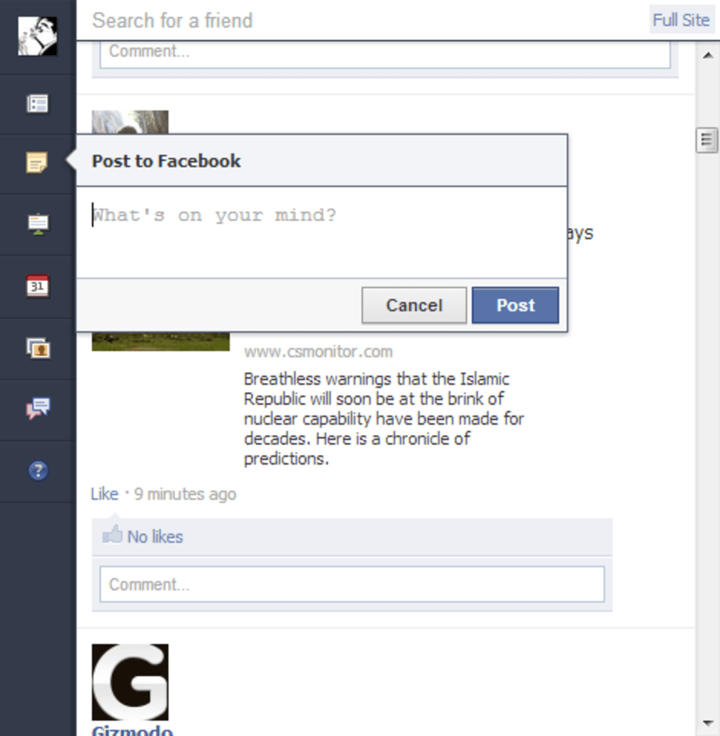 Facebook for Chrome - Download