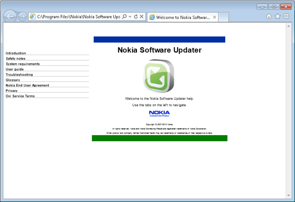 Nokia Software Updater - Download