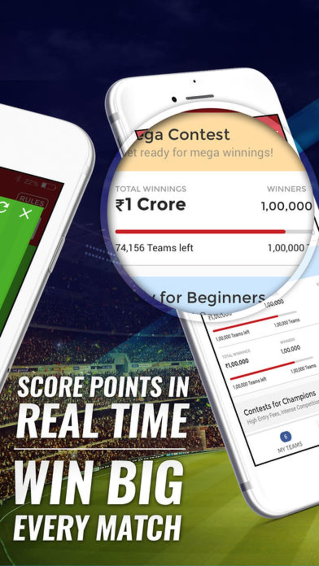Dream11 Fantasy Sports for iPhone - Download