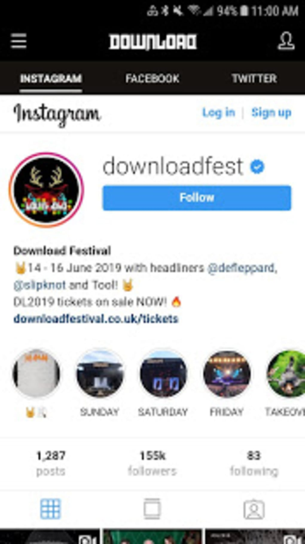 Download Festival for Android - Download