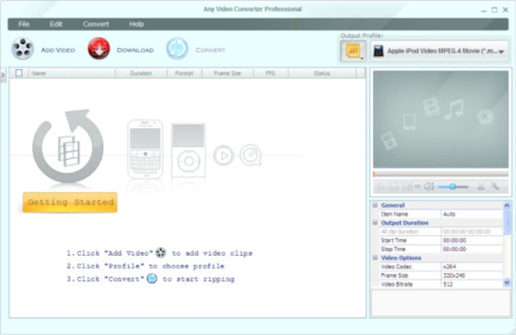 any video converter professional 3.0 5 free download