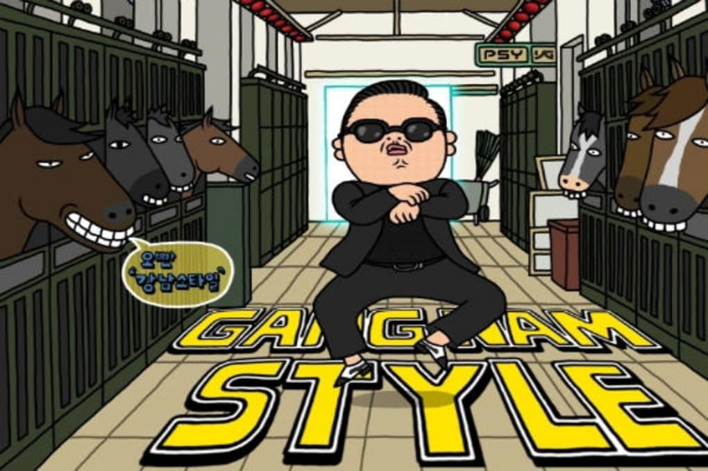 gangnam style canzone da