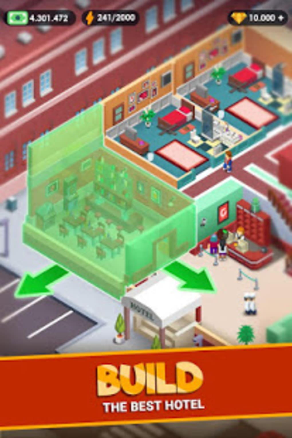 Best Idle Games 2020.Hotel Empire Tycoon Idle Game Manager Simulator For