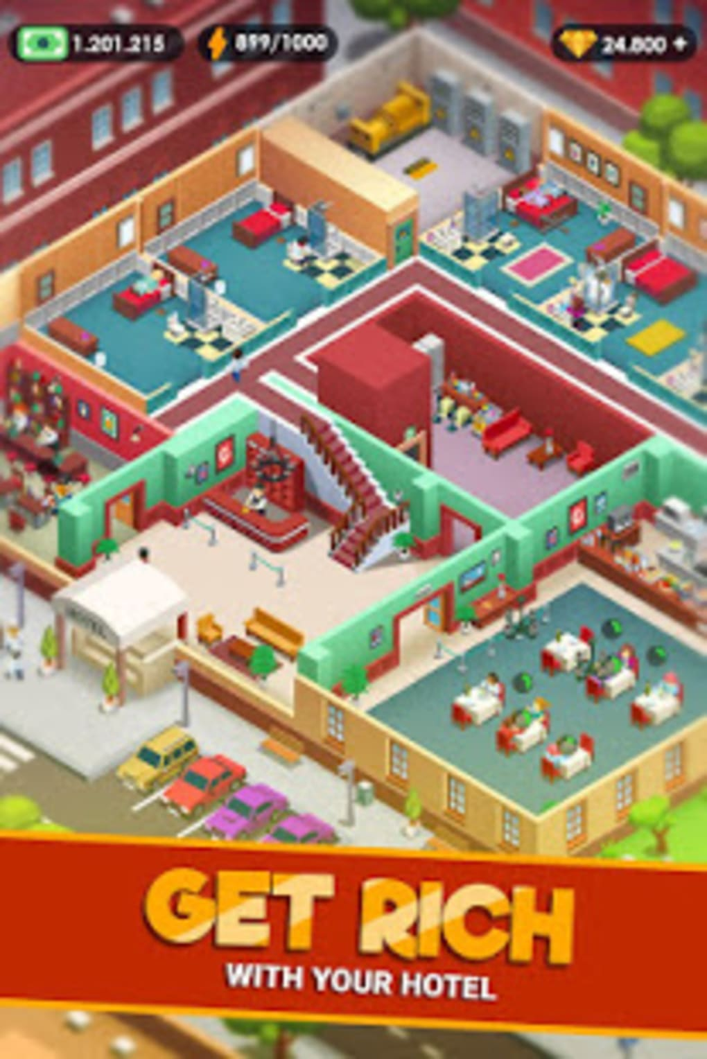 Idle Games 2020.Hotel Empire Tycoon Idle Game Manager Simulator For