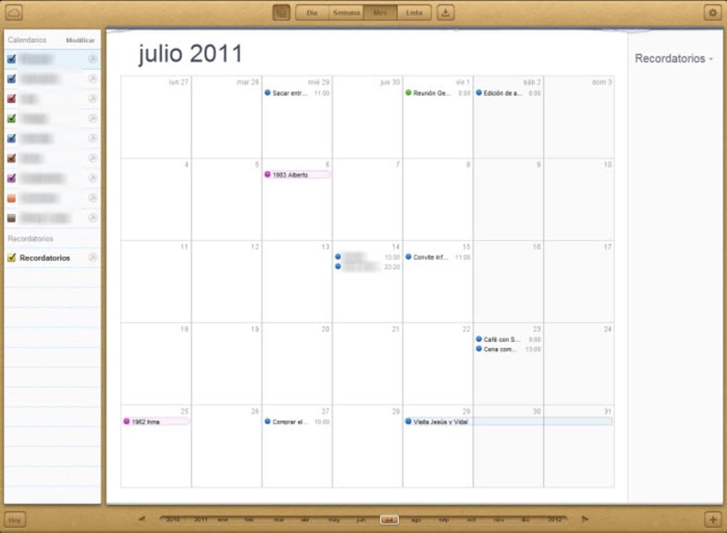Calendario Icloud.Icloud Online