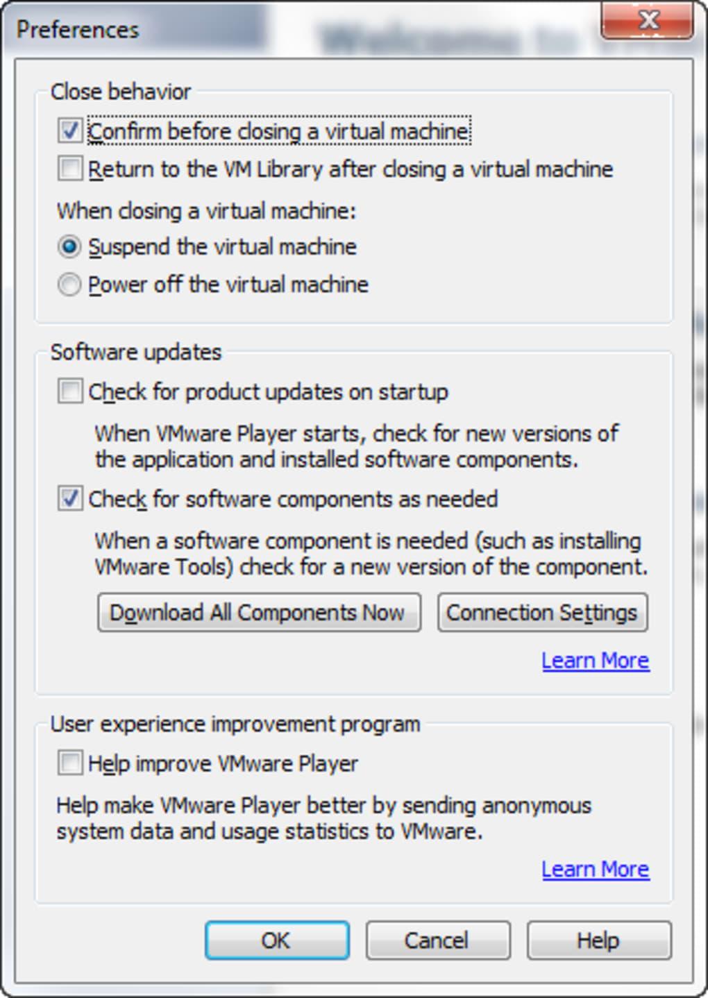VMware Player - Descargar