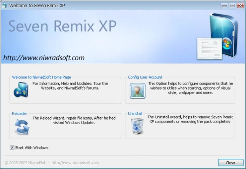 Seven Remix XP - Download