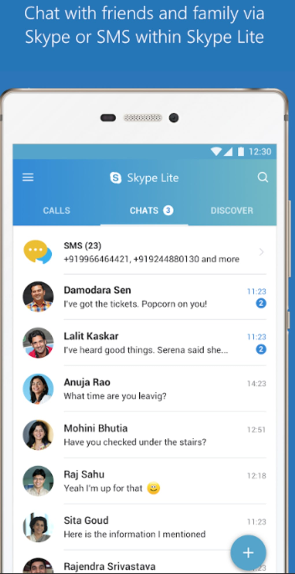 Skype Lite for Android - Download