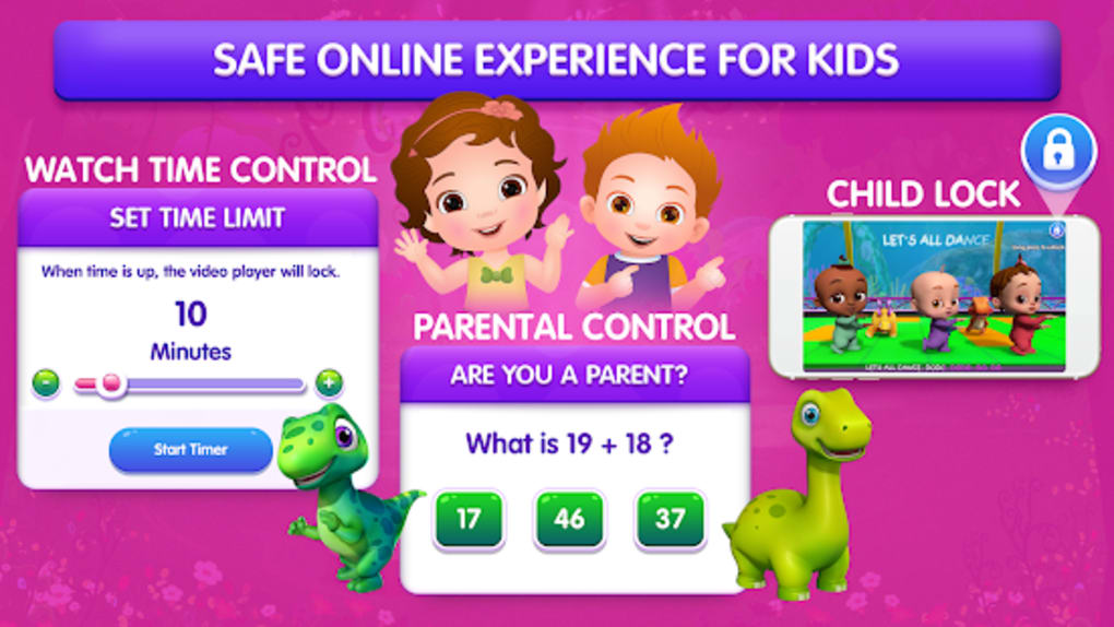 ChuChu TV LITE Best Nursery Rhymes Videos For Kids for Android