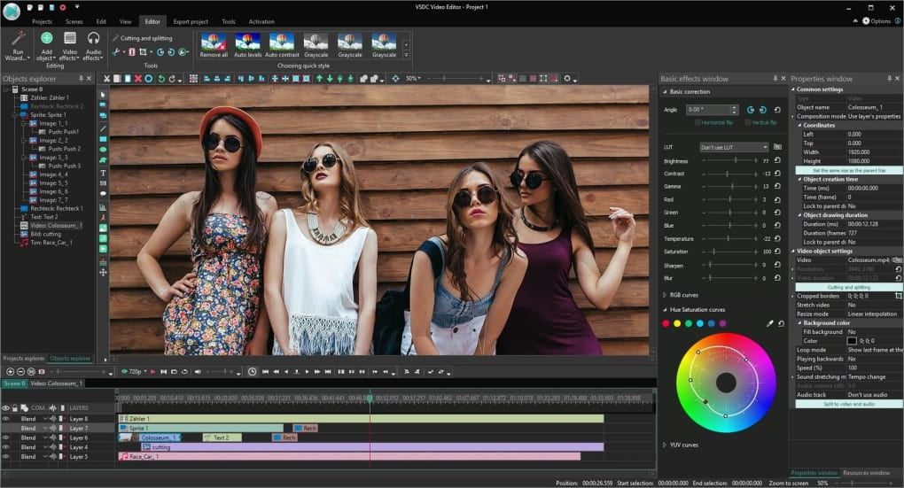video editing vsdc free video editor android