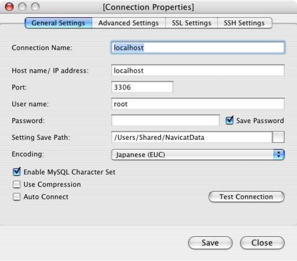 Mysql tool for mac