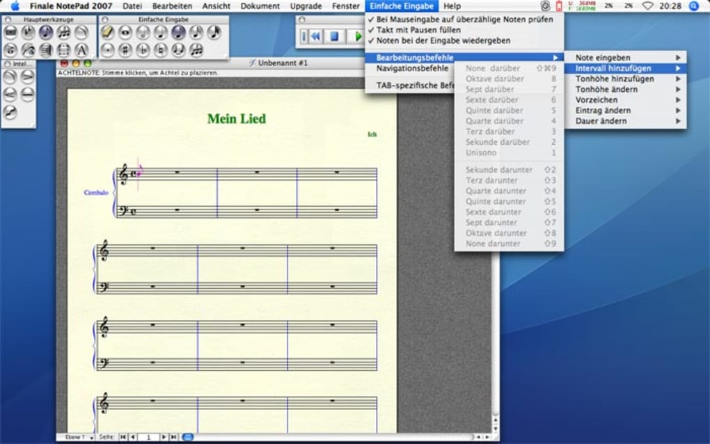 finale notepad free download mac