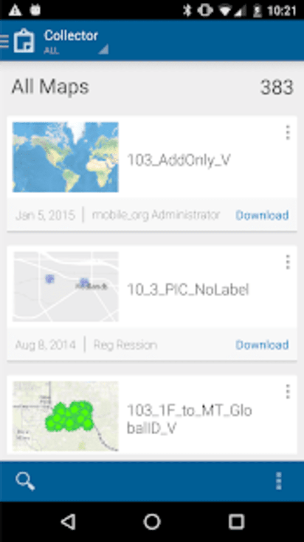 Collector for ArcGIS for Android - Download