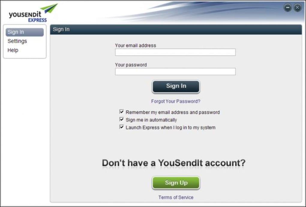 youSENDit Express - Download