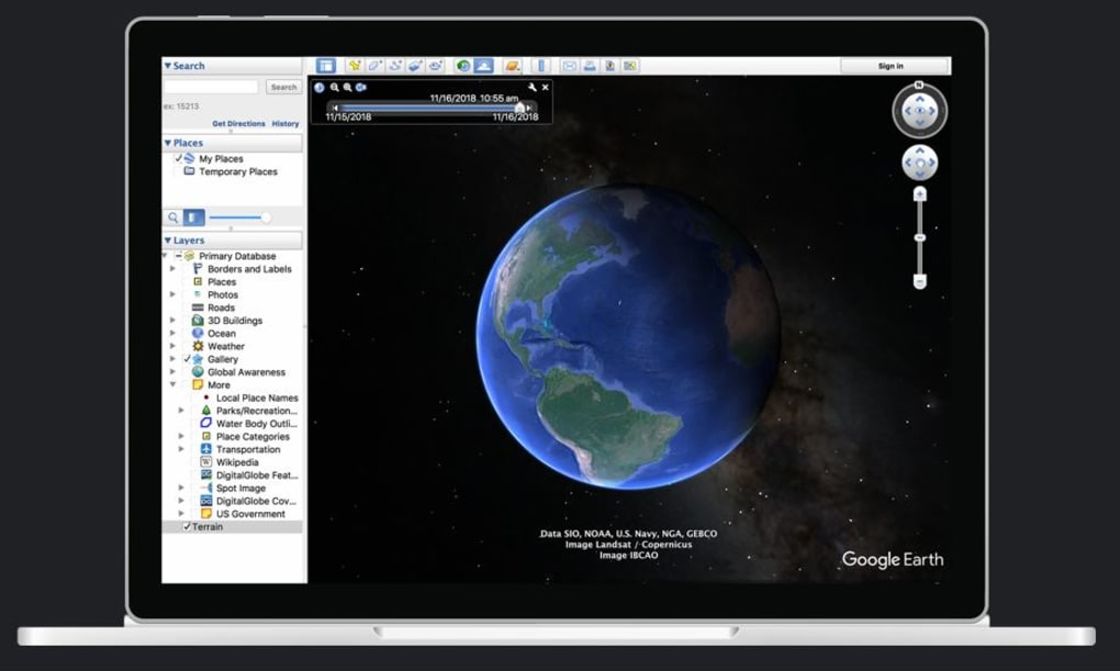 New images google earth version free download for windows 8 64 bit
