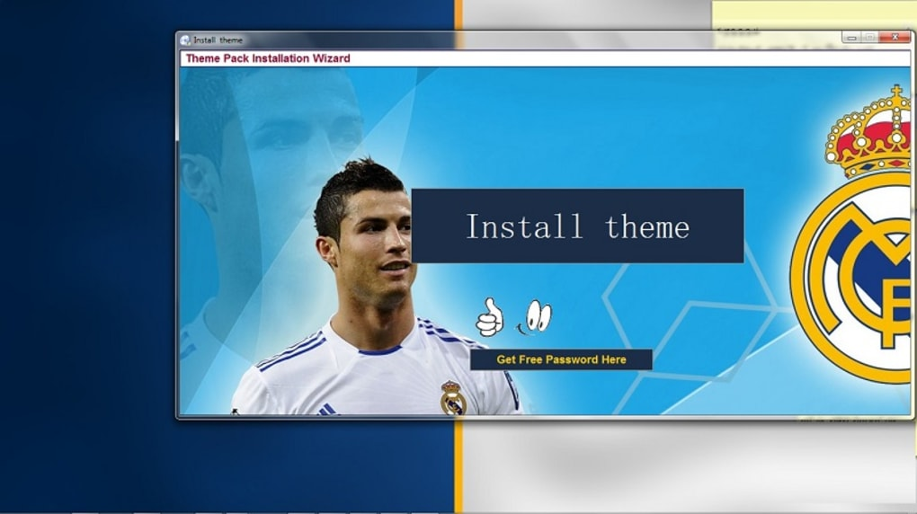 Real Madrid Fc Theme Download