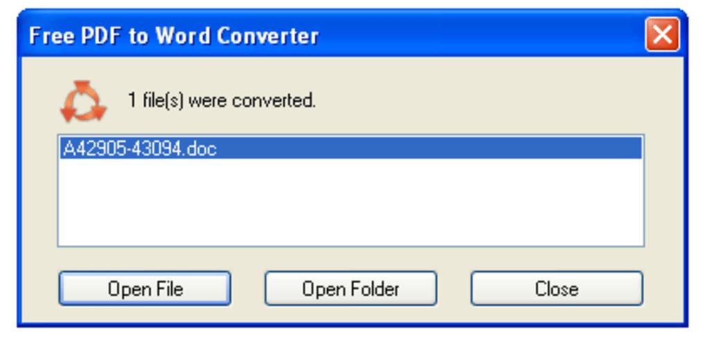 free pdf to word converter 5.1