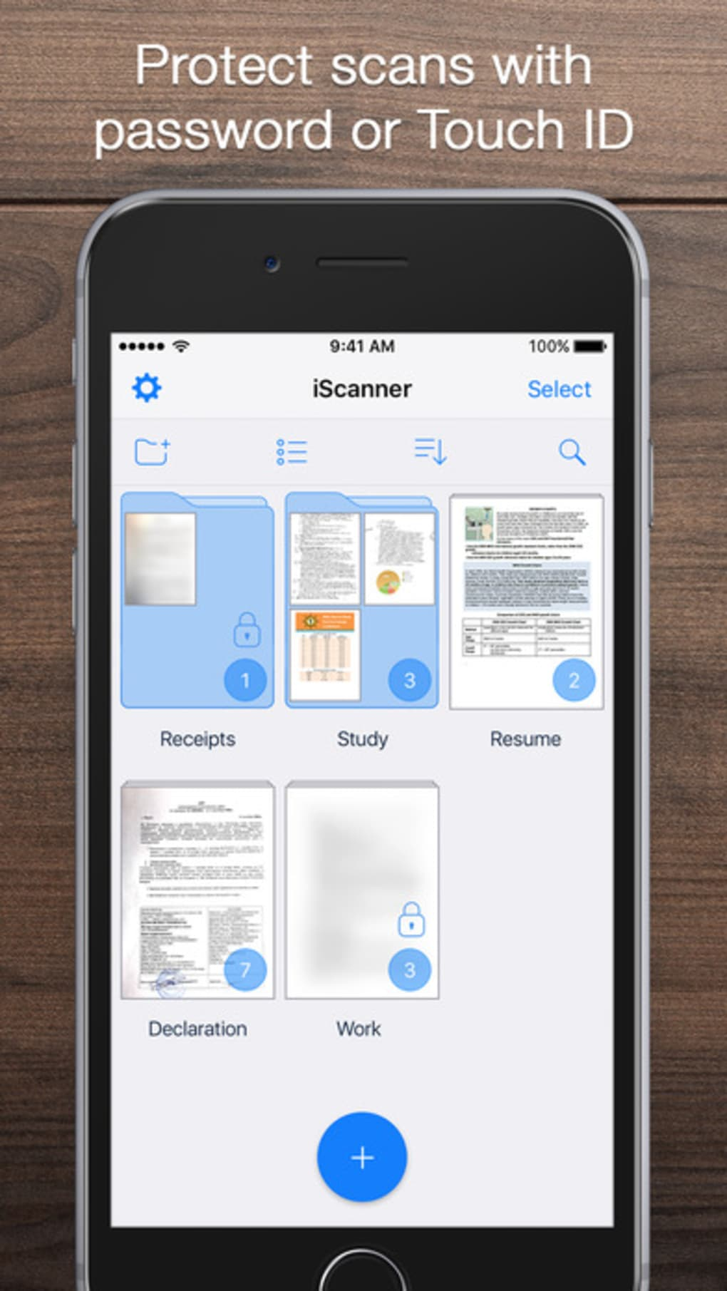 iScanner - PDF Document Scanner App for iPhone - Download
