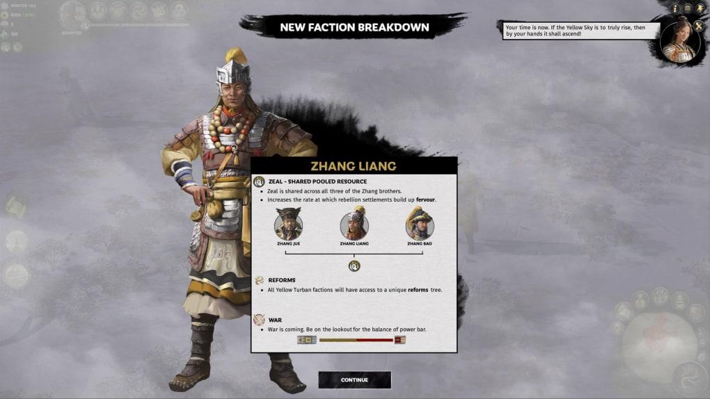Total War: THREE KINGDOMS - Mandate Of Heaven Download Free