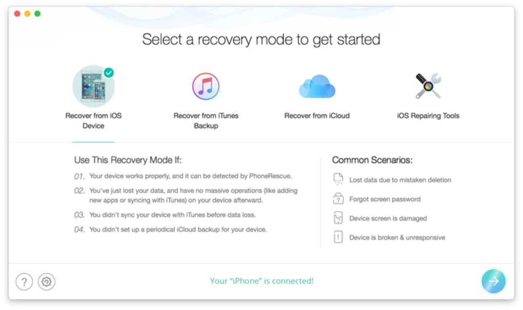 PhoneRescue for Mac для Mac — Скачать
