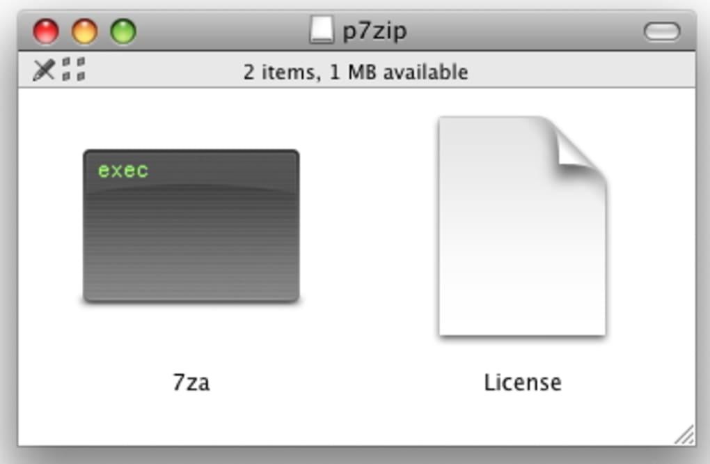 p7zip mac