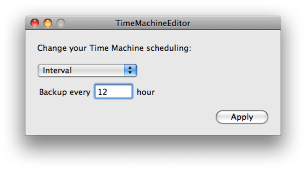 Timemachineeditor review