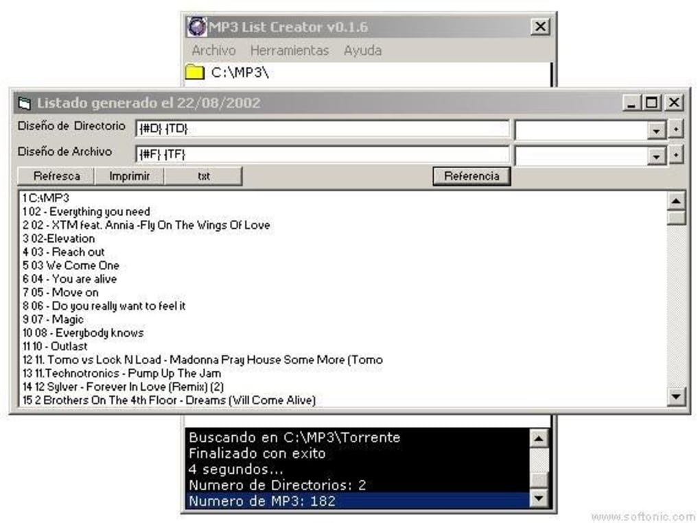 MP3 List Creator - Descargar