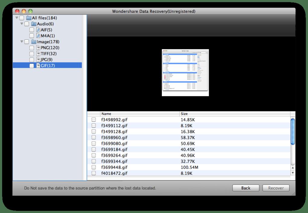 Data Recovery para Mac (Mac) - Descargar