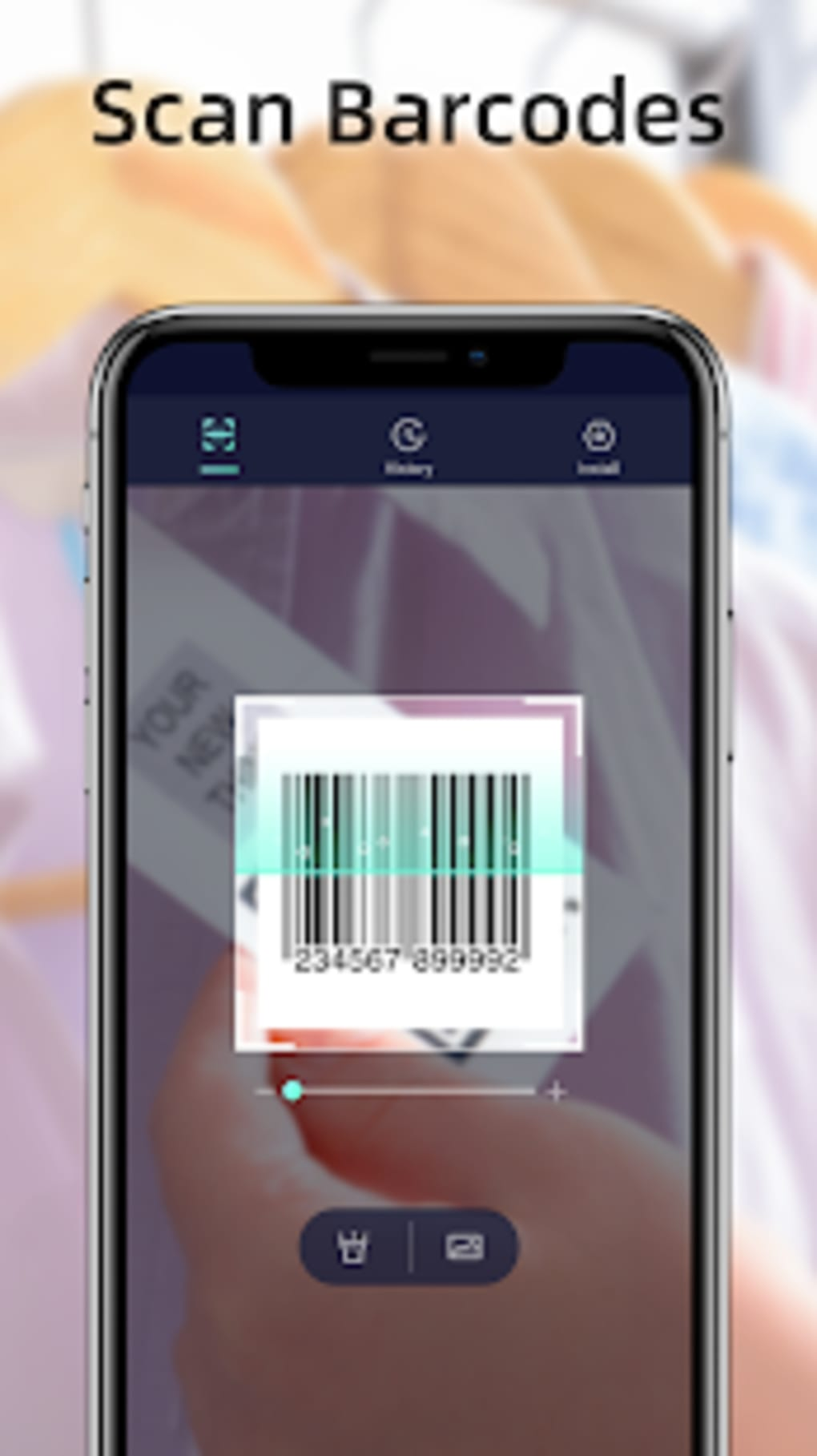 Smart QR Code FREE Accurate Fast Scan anything for Android - Download