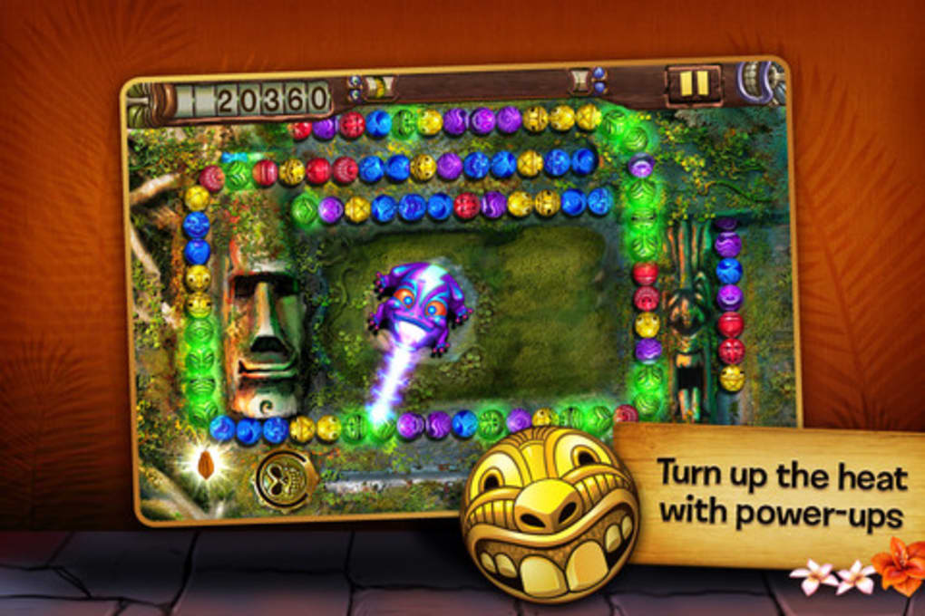 Zuma revenge Deluxe iPhone game - free. Download ipa for iPad iPhone iPod