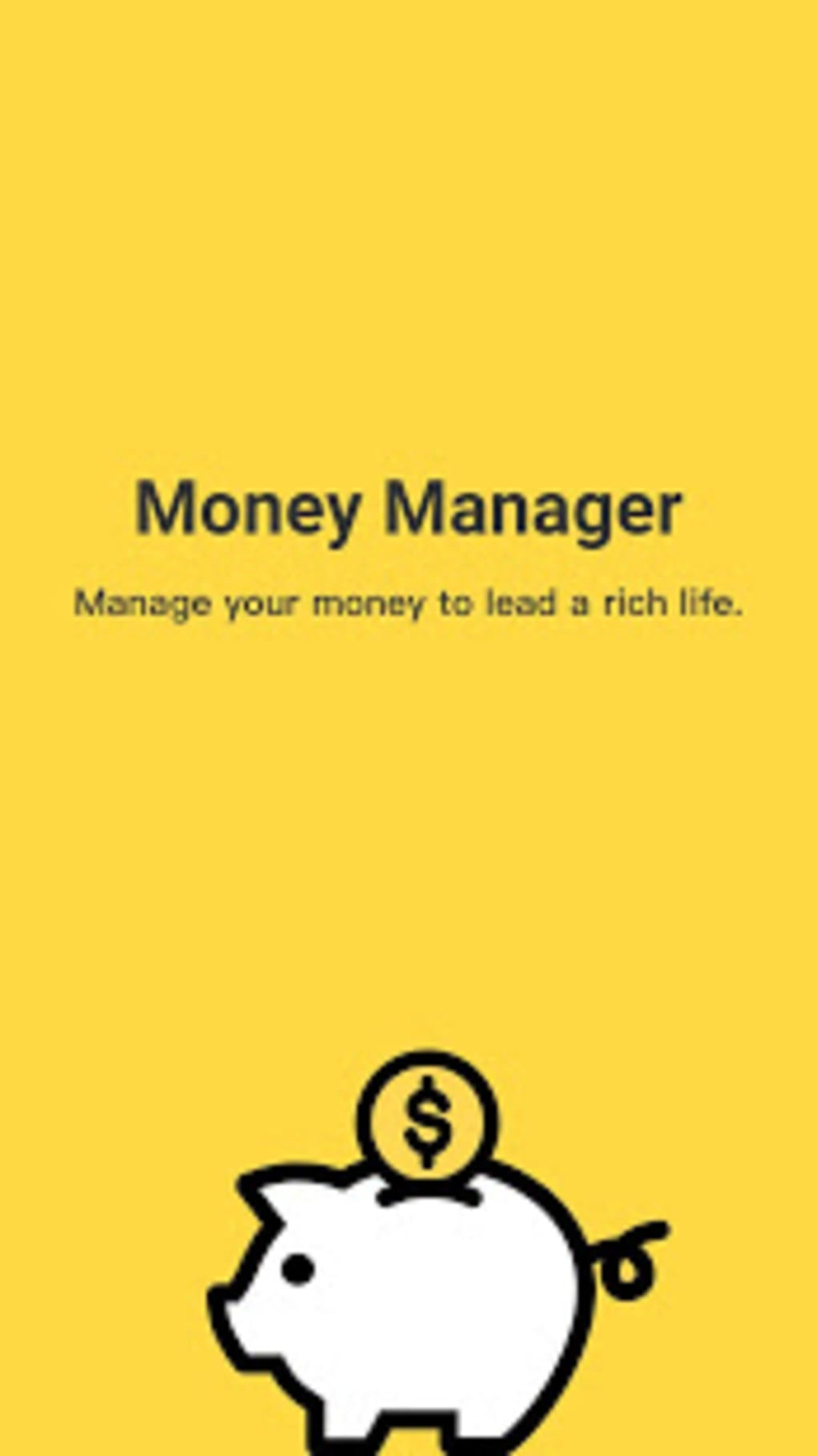 money manager expense and budget