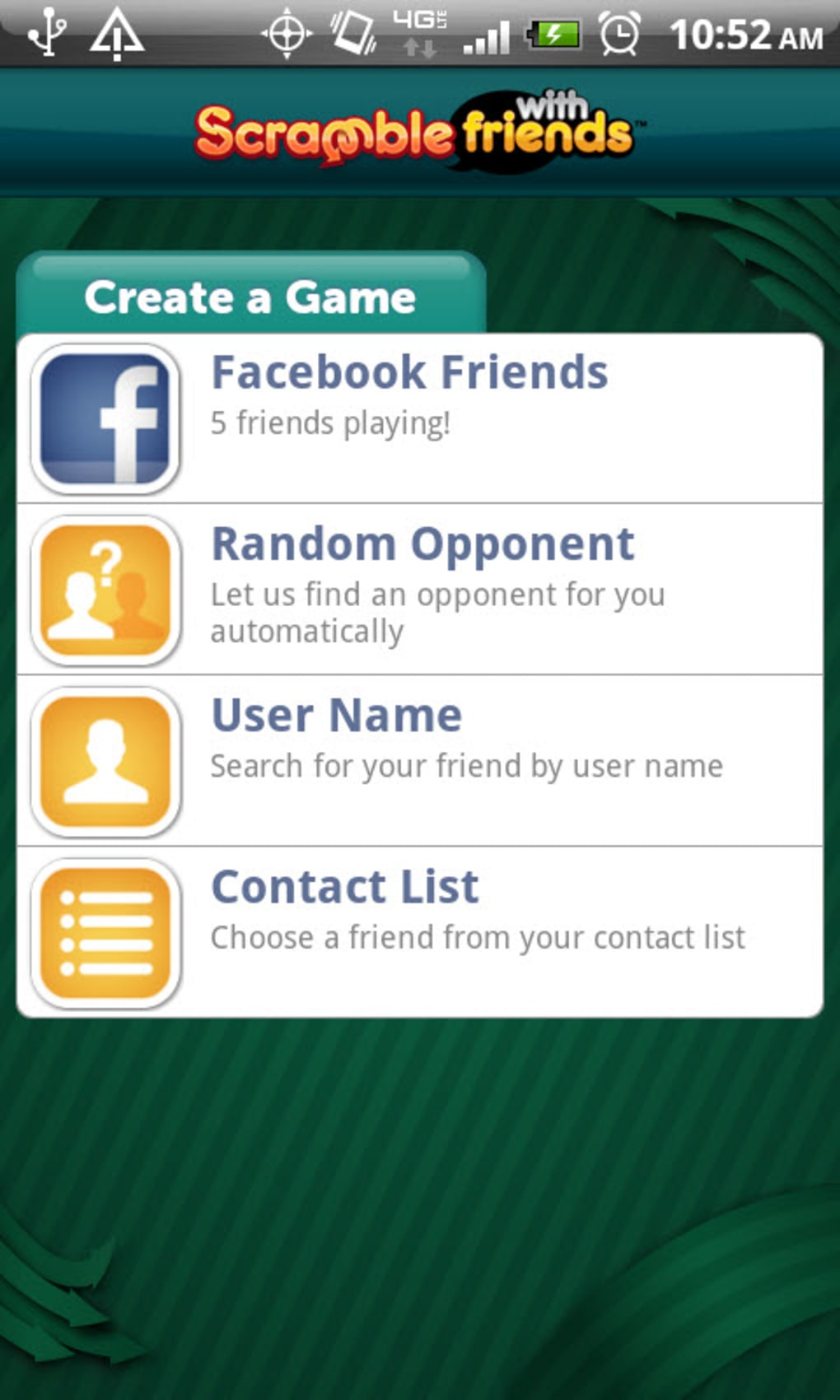 Scramble With Friends for Android - Download