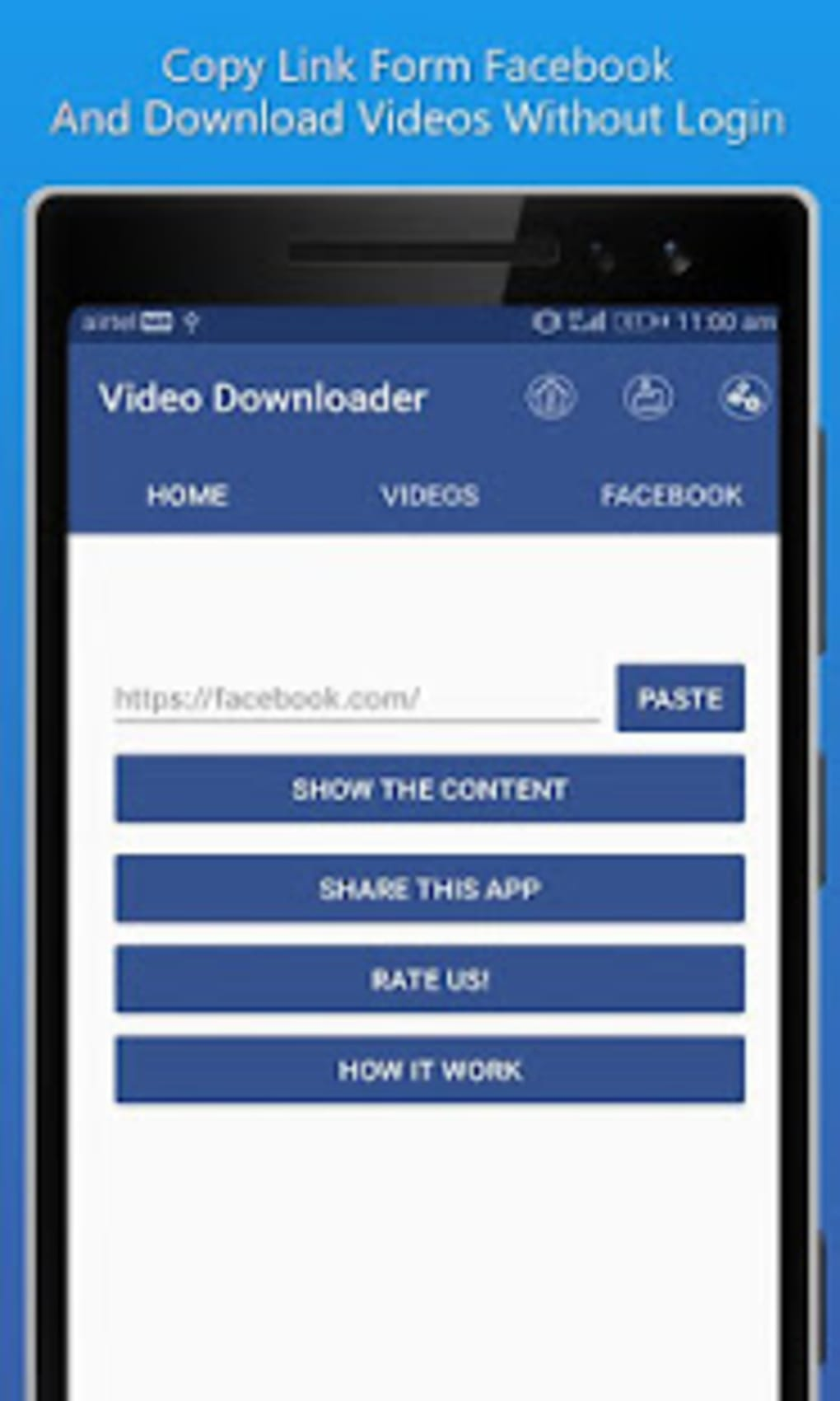 FB Video Download for Facebook Video Downloader for Android - Download