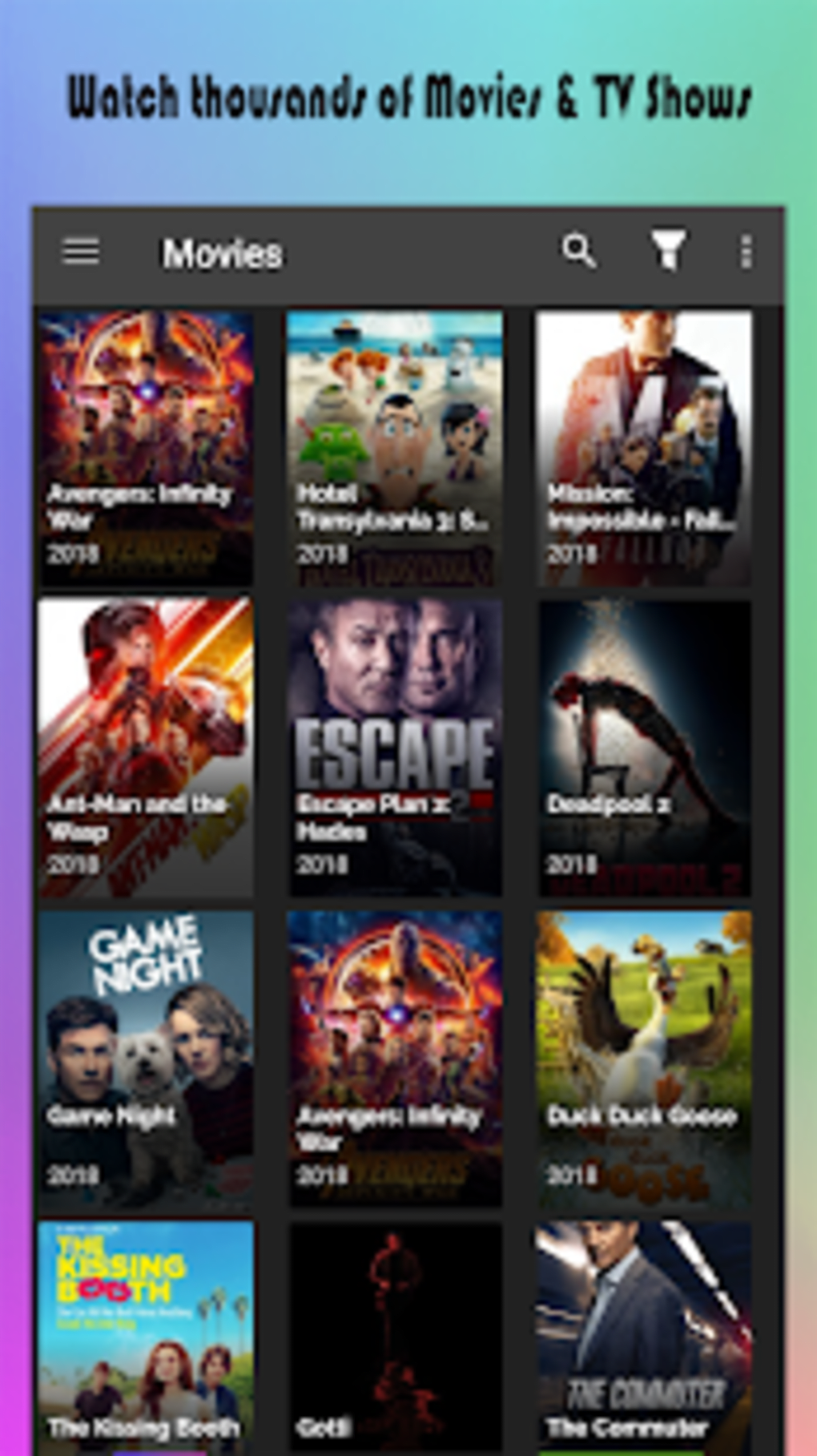Popcorn Time Stream TV Movies TV Shows more for Android ...