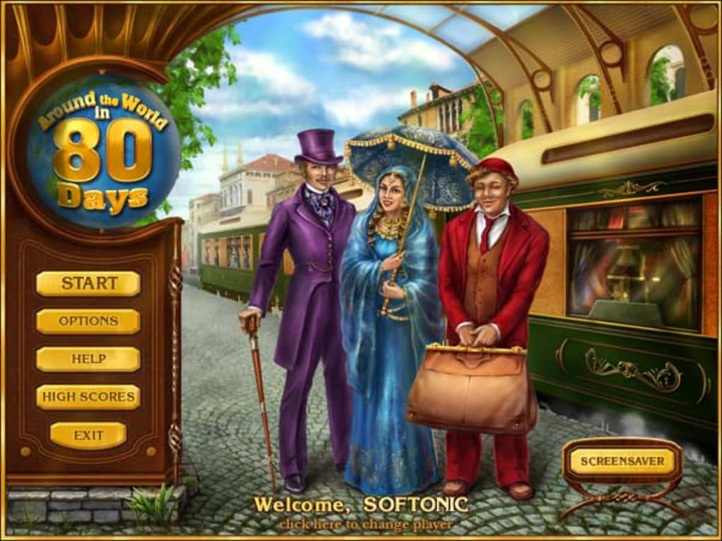 Around the World in 80 Days for Mac Download